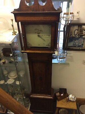 antique longcase clock