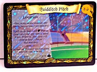 Harry Potter  A. @ H SET - QUIDDITCH PITCH - FOIL  # 24/80 - NEW