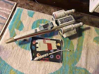Star Wars Target Exclusive Wedge Antilles Red 2 X-Wing Fighter Incomplete