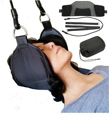 Premium Neck Hammock. Portable Cervical Traction Device for Neck Pain Relief.