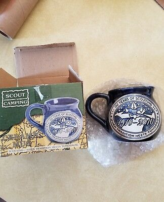 Boy Scouts Of America Coffee Mug Cup 100 Years Scouting Bsa Logo New In Box