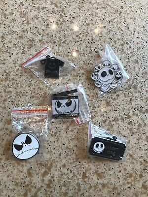 Disney Nightmare Before Christmas Trading Pins. FREE lanyard U Pick Boy/Girl!!