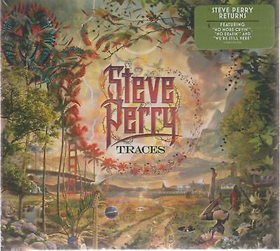 Traces By Steve Perry Audio CD NEW Fantasy Rock & Roll USA SELLER !