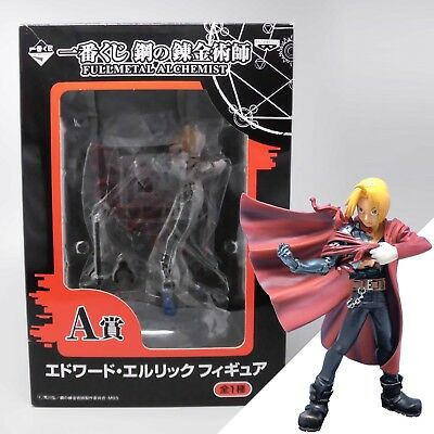 Banpresto Fullmetal Alchemist Ichiban Kuji Edward Elric Figure Anime from Japan