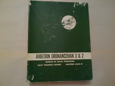 Aviation Ordnanceman Navpers 10345-B Manual 1967