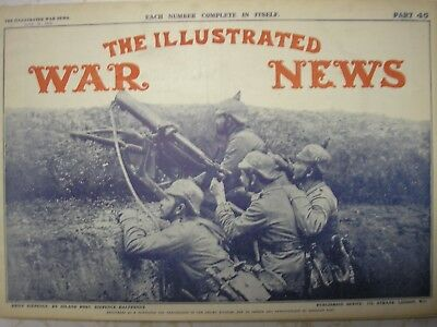 1915 June 16 Illustrated War News Part 45 - Ww1 British Weekly Publication