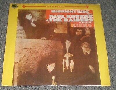 Midnight Ride Paul Revere & The Raiders~RARE Taiwan Import~Kicks~FAST SHIPPING!