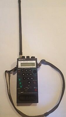 Sony Air-8 Psb/air/fm/am Pll Synthesized Multi Band Receiver Radio