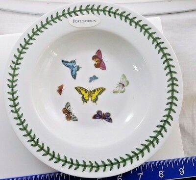 PORTMEIRION Botanic Garden Butterflies Pasta Bowl - DISCONTINUED - NEVER USED