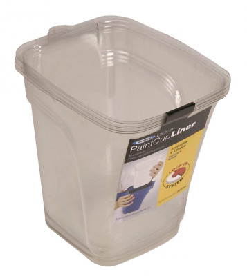 Werner AC27-L Lock-In Paint Cup Liner, 4-Pack