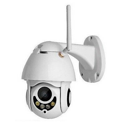 Telecamera Ip Camera Infrarossi Zoom Ptz Hd Wireless Wifi Motorizzata Esterno