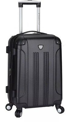 TPRC 20' Rolling 4-Wheel Spinner - Black Carry-on