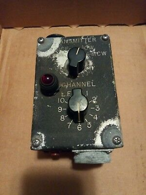 Remote Transmitter Control for ART-13.   C-87 / ART-13 WWII Aircraft Transmitter