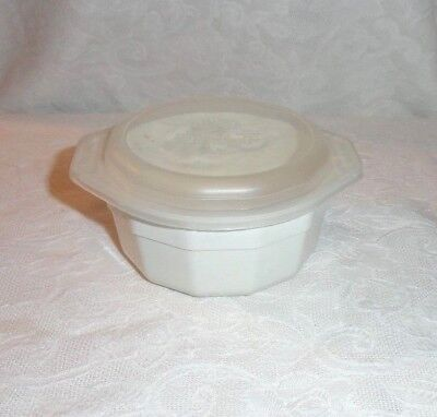 Anchor Hocking 8 Oz Freeze Heat Serve Ramekin Microwave Bowl & Lid #579