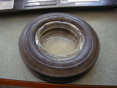 Old The Mohawk Rubber Co. Ashtray Super Chief Akron O. Made In Usa