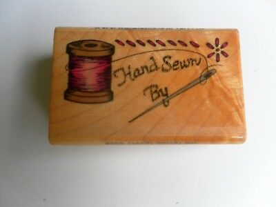 Comotion Rubber Stamp #658 Hand Sewn By