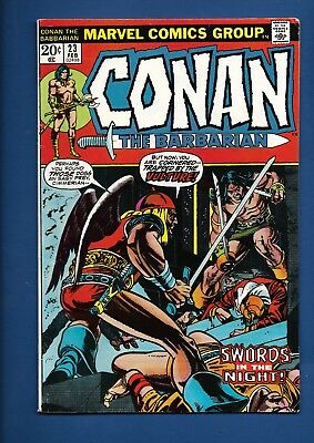 Conan The Barbarian #23 1st appearance Red Sonia MARVEL COMICS High Grade F/VF