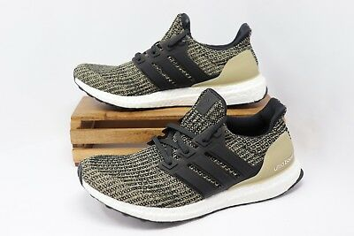 85ba54cb9404e Adidas Ultra Boost Running Shoes Raw Gold Black White BB6170 Men s Size 10  NWOB