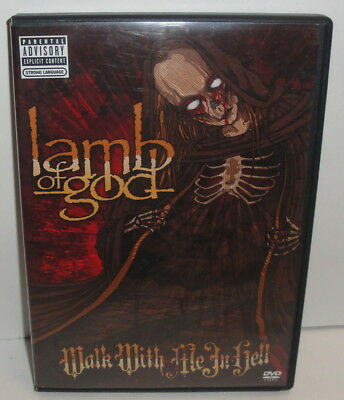 Lamb of God: Walk With Me in Hell DVD - 2-Discs Set 2008 Concert Live