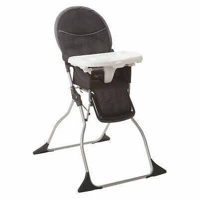 Cosco On-the-Go Simple Fold Deluxe High Chair, Black Arrows
