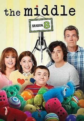 THE MIDDLE Season 8 (Region 4) DVD The Complete Eighth Series Eight