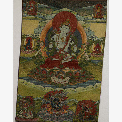 Tibet Collectable Silk Hand Painted  Painting Buddhism Thangka  RK004.a