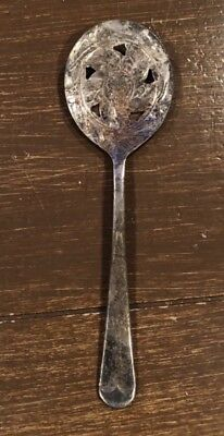 Antique Large Silver Serving Spoon (1.8ozs)