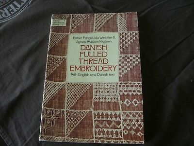 Danish Pulled Thread Embroidery - Dover Needlework Series - English&danish Text