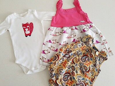 Seed,  Little 'M' Designs and Hullubullu baby clothes: Size 0