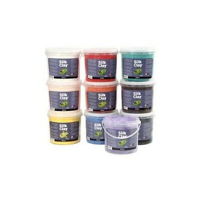 Silk Clay®, asstd. colours, 10x650g [HOB-79144]