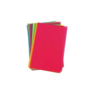 Shrink Plastic Sheets, sheet 20x30 cm, bold colours, 100sheets [HOB-79084]