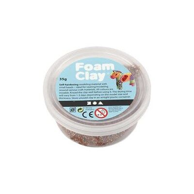 Foam Clay®, brown, 35g [HOB-78955]