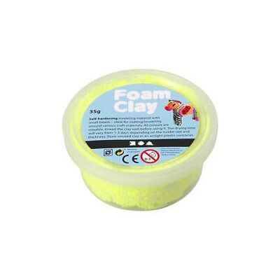 Foam Clay®, neon yellow, 35g [HOB-78929]