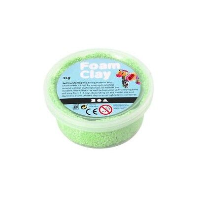 Foam Clay®, neon green, 35g [HOB-78927]