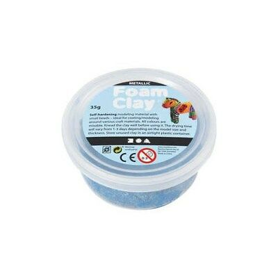 Foam Clay®, blue, metallic, 35g [HOB-788810]