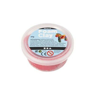 Foam Clay®, red, metallic, 35g [HOB-788800]