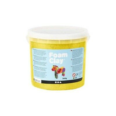 Foam Clay®, yellow, metallic, 560g [HOB-78878]