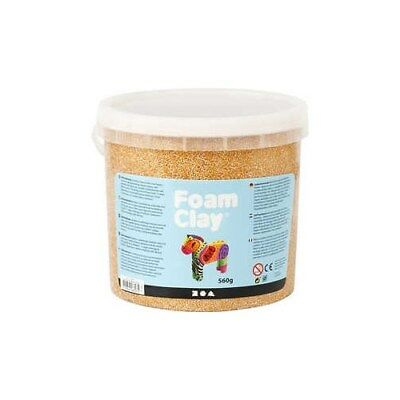 Foam Clay®, gold, metallic, 560g [HOB-78848]