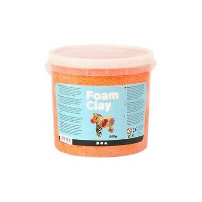Foam Clay®, neon orange, 560g [HOB-78828]