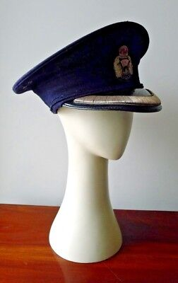 Obsolete 1911-1935 Period Scottish Police Inspector/chief Inspector Hat & Badge.