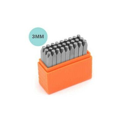 Embossing Stamps, size 3 mm, Small letters, 27pcs [HOB-67563]
