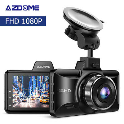 "AZDOME M01 2.5D 3"" Dashcam HD 1080P Car DVR Camera IPS LCD Screen Video Recorder"