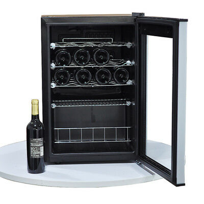 Thor Kitchen 24 133 Bottles Wine Cooler Refrigerator 13.42cu.ft Free Standing Wine Cellar Stainless Steel HWC2408U 2 Year Warranty