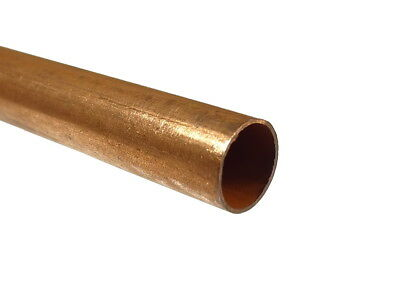 12mm Copper Pipe / Tube 100mm - 500mm Lengths Available