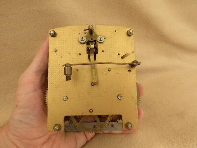 Vintage Enfield 8 Day Striking Clock Movement For Tlc
