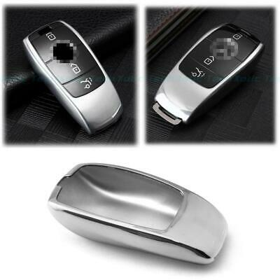 Gloss Silver TPU Key Cover Case FOB For Mercedes Benz E-Class 2017-up S-Class