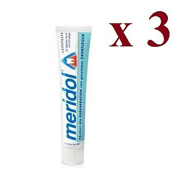 Meridol Toothpaste. The best for your gums. 3 x 75ML SALE JUST £11.66