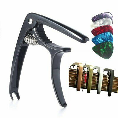 Guitar Capo Trigger Clamp Clip For Acoustic Electric Classical Guitars & Ukulele
