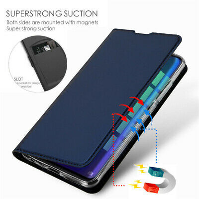 For OnePlus 6T 6 5T 5 Luxury Slim Leather Magnetic Flip Wallet Card Case Cover