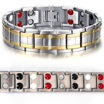 Magnetic Bracelet Arthritis Therapy Healing Relief Bangle Women Men